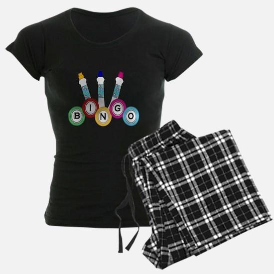 BINGO WITH MARKERS Pajamas