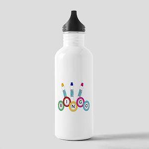 BINGO WITH MARKERS Water Bottle