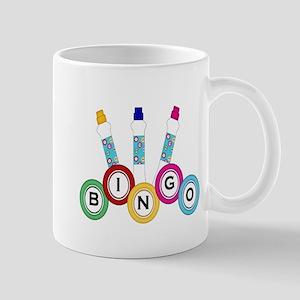 BINGO WITH MARKERS Mug