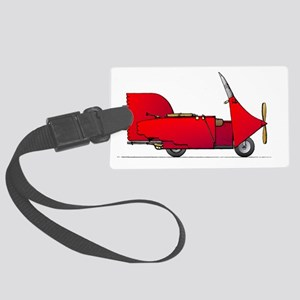 flying-scooter-Red-white1800 Large Luggage Tag