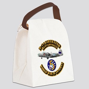 AAC - 22nd BG - 2nd BS - 5th AF Canvas Lunch Bag