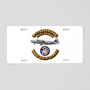 AAC - 22nd BG - 2nd BS - 5th AF Aluminum License P