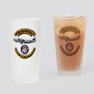 AAC - 22nd BG - 2nd BS - 5th AF Drinking Glass