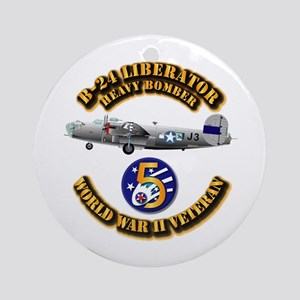 AAC - 22nd BG - 2nd BS - 5th AF Ornament (Round)