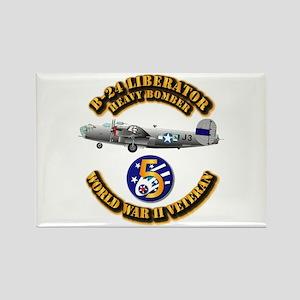 AAC - 22nd BG - 2nd BS - 5th AF Rectangle Magnet