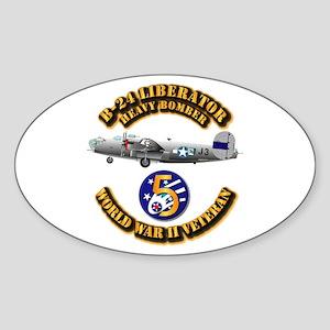 AAC - 22nd BG - 2nd BS - 5th AF Sticker (Oval)