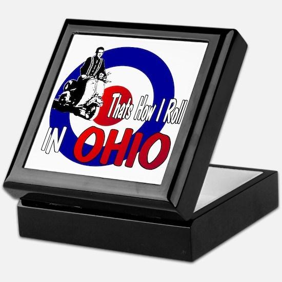 Ohio-color Keepsake Box