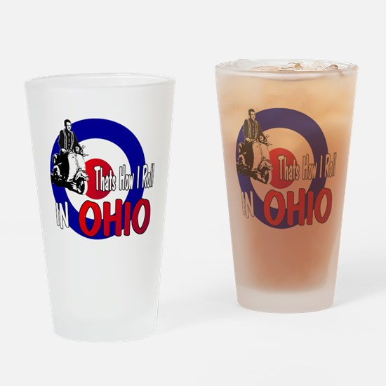Ohio-color Drinking Glass