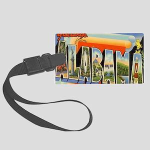 alabama Large Luggage Tag