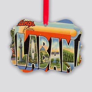 alabama Picture Ornament