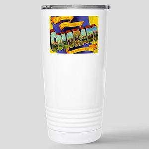 colorado Stainless Steel Travel Mug