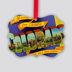 colorado Picture Ornament