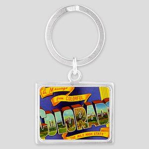colorado Landscape Keychain