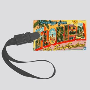 florida1 Large Luggage Tag
