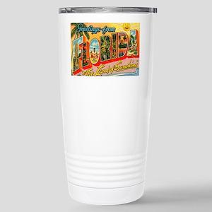 florida1 Stainless Steel Travel Mug
