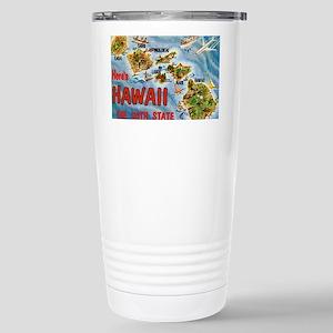 hawaii Stainless Steel Travel Mug