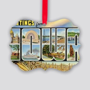 iowa Picture Ornament