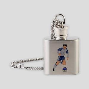 argint Flask Necklace