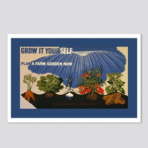 grow-it-stick Postcards (Package of 8)