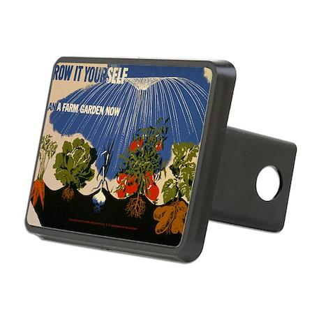 grow-it-postcard Rectangular Hitch Cover
