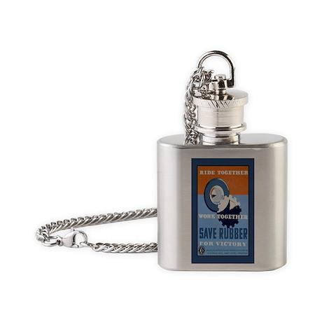 save--stkr Flask Necklace