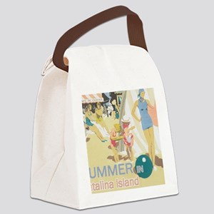 Catalina Island Canvas Lunch Bag
