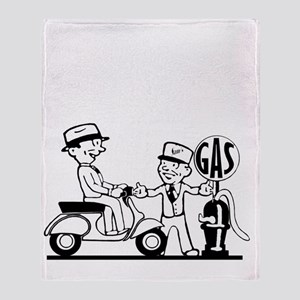 WSams-Scooter-ver2a Throw Blanket