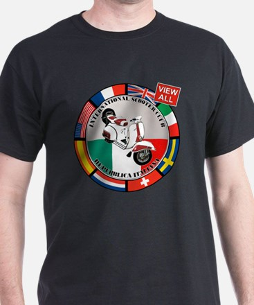 2-vespa-country-section T-Shirt