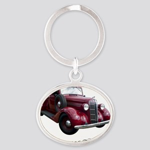 36-Dodge-pickup2800 Oval Keychain