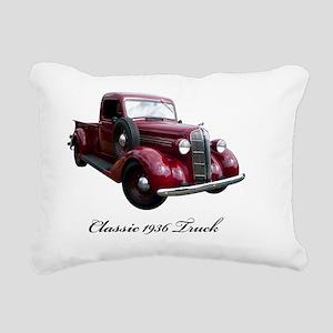 36-Dodge-pickup2800 Rectangular Canvas Pillow