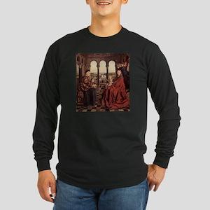 Jan_van_Eyck_070 Long Sleeve Dark T-Shirt
