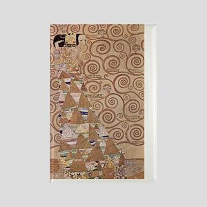 Gustav_Klimt_030 Rectangle Magnet