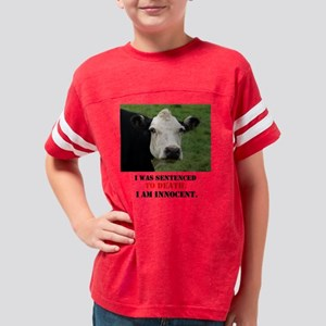 sentenced to death Youth Football Shirt