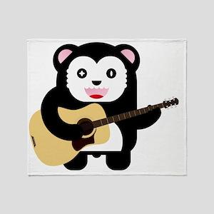forest-bear3 Throw Blanket