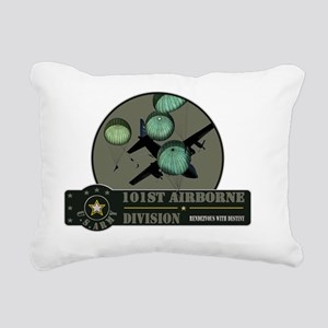 101st-airborne-1 Rectangular Canvas Pillow