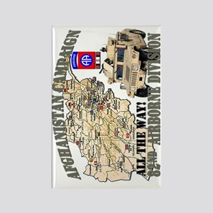 afganistan-82nd-airborne-v Rectangle Magnet