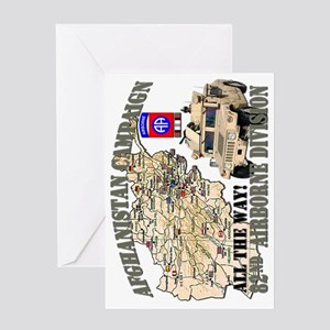afganistan-82nd-airborne-v Greeting Card