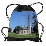 Cana Island Light Drawstring Bag
