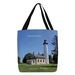 Cana Island Light Polyester Tote Bag