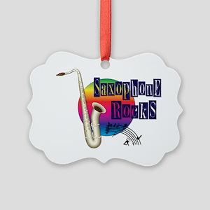 21064936-saxophone-rocks Picture Ornament