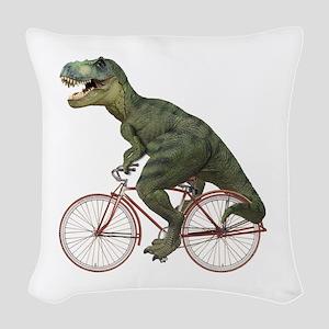 blank-rex Woven Throw Pillow