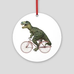 blank-rex Round Ornament