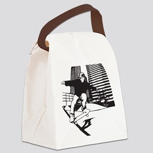 Skateboarding Extreme Sports Canvas Lunch Bag