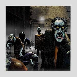 zombie-party Tile Coaster