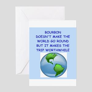 bourbon Greeting Card