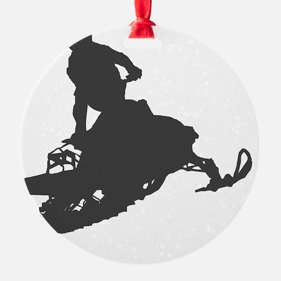 snow-mobile-2 Ornament