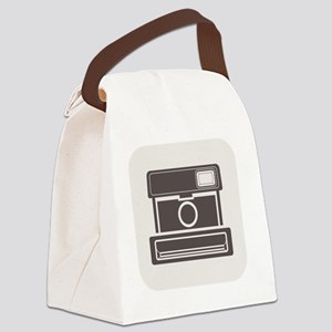 retro camers Canvas Lunch Bag