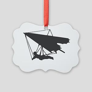 hang-glide Picture Ornament