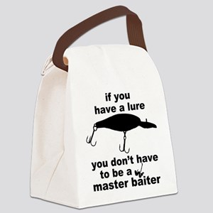 Fishing humor Canvas Lunch Bag