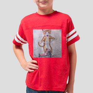 trike_cat Youth Football Shirt